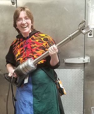 SCA Sylvia with giant immersion blender Favorite.jpg